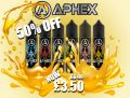 Aphex E-Liquid Shortfill 50ml – £3.50