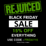 Black Friday 15% off Site Wide
