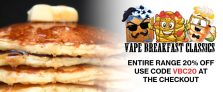 Vape Breakfast Classics – 20% off at Gourmet eLiquid
