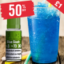 Blue Slush – £1.00 At ReJuiced