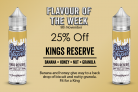 Kings Reserve 50ml – £4.20 At Sweet Vapes