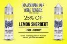 Lemon Sherbet 50ml Shortfill – £4.20 By Sweet Vapes