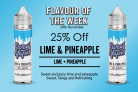 Lime and Pineapple 50ml Shortfill – £4.20